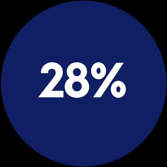 logo 28%