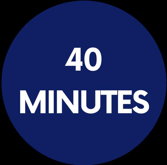 logo 40 minutes